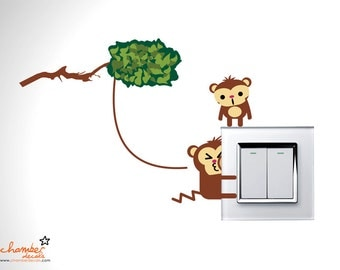 Monkeying Around Wall Decal
