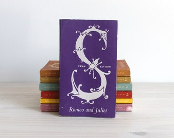 Romeo and Juliette Shakespeare Swan edition, Vintage book