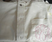 1 Button up  shirt/ Birthday /Bridal shirt/ Business - FREE SHIPPING - get ready shirt for the wedding day