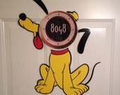 Pluto Mickeys Best Dog Body Part Stateroom Door Magnets for Disney Cruise