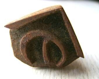 Vintage Japanese Yakiin Branding Iron NO Hiragana S179