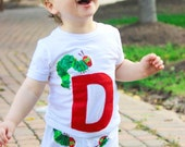 The Very Hungry Caterpillar tshirt with pants.