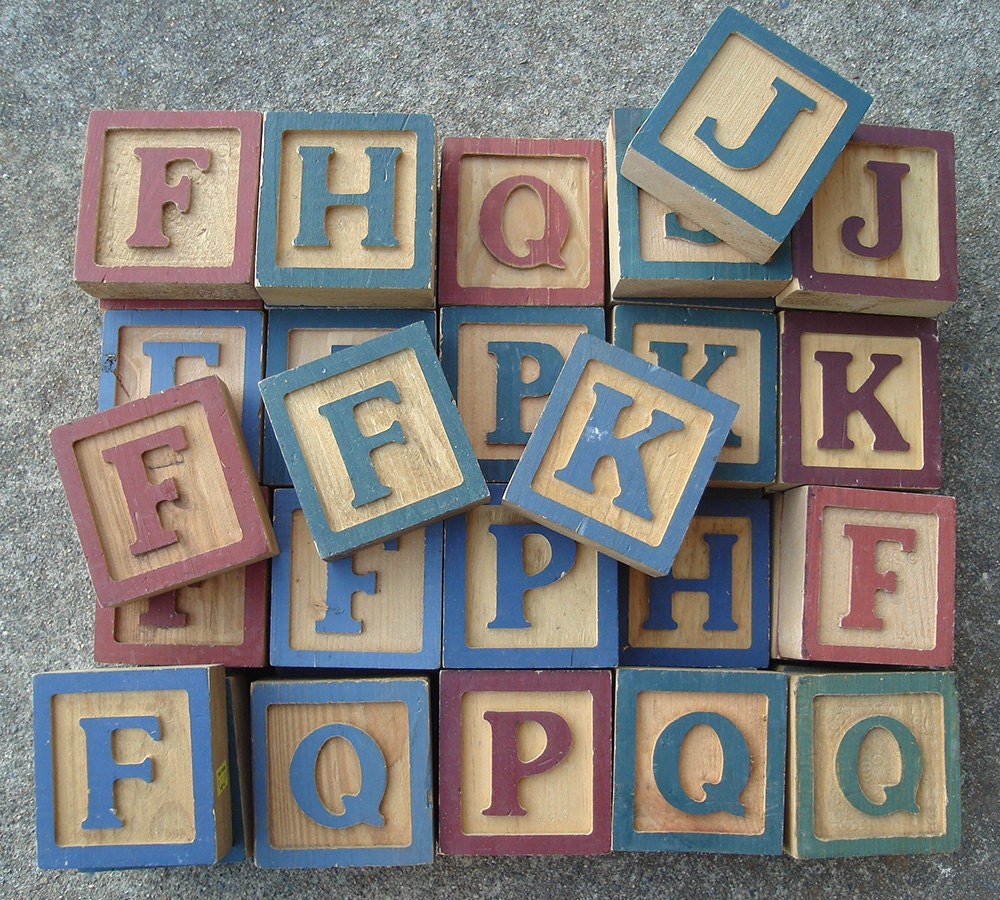 wood block letters baby blocks letter wood blocks 25665 | il fullxfull.653033567 82ou