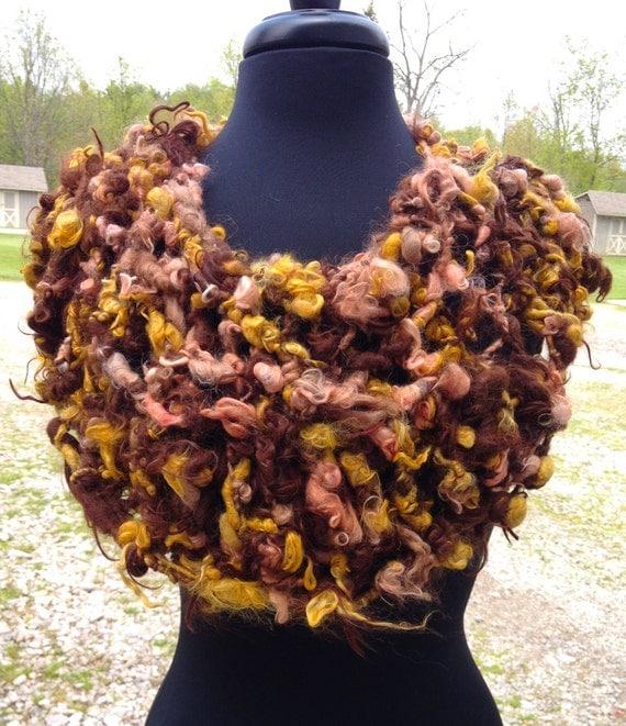 FREE Knitting Pattern – Suri Art Yarn Cowl | Alpaca Meadows