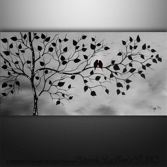 Arte pintura abstracta blanco y negro imagui - Blanco y negro paint ...