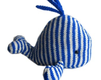 Moby Dick The WHALE Pdf Email Knit PATTERN