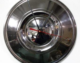 Datsun Wall Clock - 1972 - 1979 620 Pickup Truck Hubcap Clock - 1973 1974 1975 1976 1977 1978 - Industrial Clock - Automotive Clock