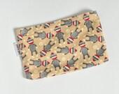 Snack Bag - Sock Monkey