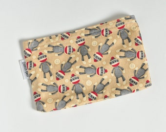 Snack Bag - Sock Monkey