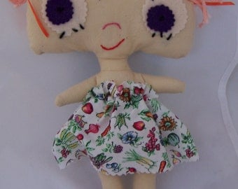 OOAK, Doll, Dolly, Silly Girl