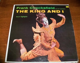 1957 the king and I record album