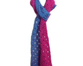 Soft Serve Scarf - PDF Crochet Pattern - Instant Download