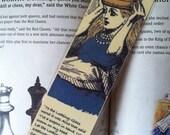 Queen Alice Bookmark -Invitation to Dine (laminated)