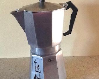 Vintage Moka Express Coffee Maker