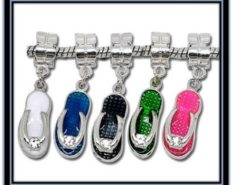 THONG Shoe Charm ~ Fits European Style Jewelry