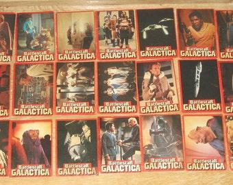 SALE 1978 Battlestar Galactica Wonder Bread trading card set, 34 of 36 plus bonus