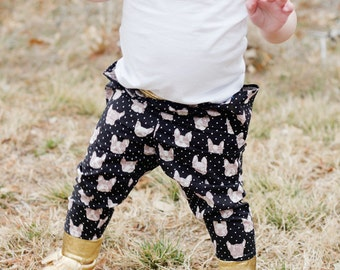 The TRIANGLE pants PDF pattern 18M to 8