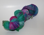 merino cashmere nylon fingering, 430 yards...charming incantations...cotton candy