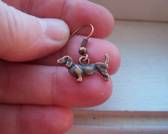 Dachshund Earrings - Dog Earrings  -Weiner Dog Earrings