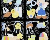 MY BABY BOY -- 36 Machine Embroidery Design Pack (AzEB)