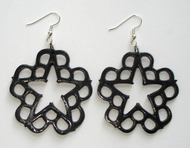 Black Black Veil Brides Inspired Earrings 🔎ampliar