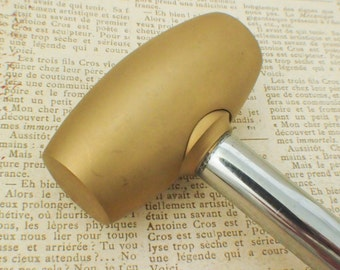 Brass Hammer - My Pick for a Great Stamping and Dapping and More - Stamping Disc Sample Included