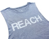 The REACH / ESCAPE Parkour Tank Top - Athletic Grey