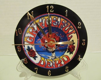 Grateful Dead CD clock