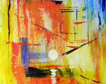 Composition - Original Abstract Painting