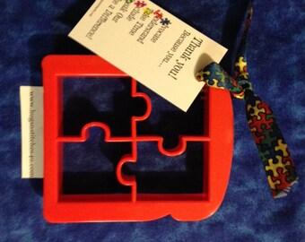 Autism Puzzle Piece Bread, Sandwich, or Cookie Cutter