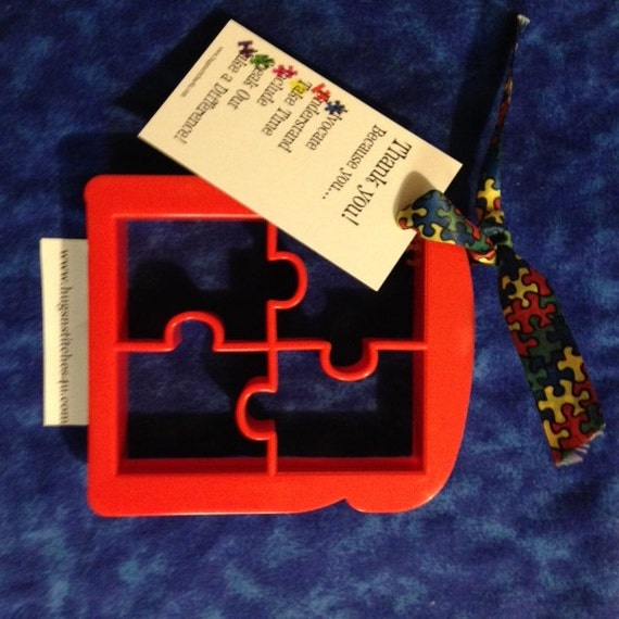 Autism Puzzle Piece Bread, Sandwich, or Cookie Cutter