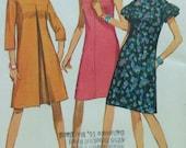 Vintage  Dress Sewing Pattern UNCUT Simplicity 6865 Size 12