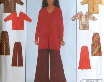 Jacket, Top, Skirt, and Pants Sewing Pattern UNCUT Simplicity 8210 Sizes 6-14