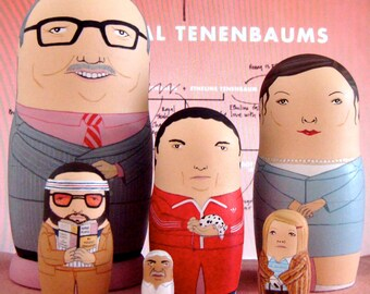 The Royal Tenebaums Deluxe Matryoshka Dolls