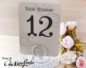 "Wedding table number holders , 5"" x 7"" card holder - set of 10"