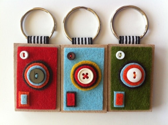 Camera Keychains--The ECO BOXY (Your choice)