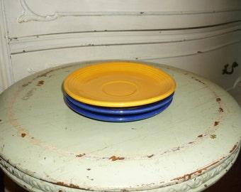 Vintage Fiesta Ware Saucers
