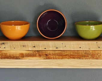 Modern Reclaimed Floating Shelf