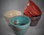 Ceramic Ice Cream Cone Bowls