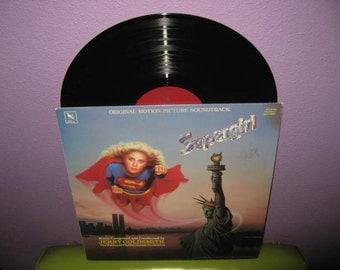 SHOP CLOSING SALE Vinyl Record Album Supergirl Original Soundtrack Lp 1984 Jerry Goldsmith Classics