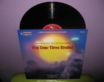 SHOP CLOSING SALE Vinyl Record Album The Day Time Ended Original Soundtrack Lp 1980 SciFi Richard Band