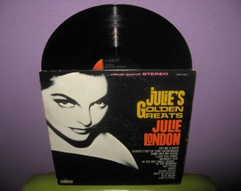 FINAL SALE Vinyl Record Album Julie London - Julie's Golden Greats LP 1960s Torch Singer Vocals Traditional