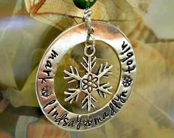 custom Christmas ornament - personalized Christmas ornament - family Christmas ornament - Christmas gift idea