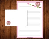 Letter Writing Stationery Set - owl love