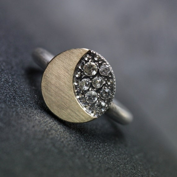 Moon And Stars Engagement Ring 14k Yellow Gold Silver 7. Hummingbird Wedding Rings. Instead Wedding Rings. Tire Tread Rings. Triton Wedding Rings. Ring Model Rings. Pretty Flower Wedding Rings. Little Finger Wedding Rings. Chocolate Diamond Rings