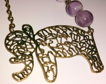 For the Love of a Good Deed   (An Elephant Necklace)