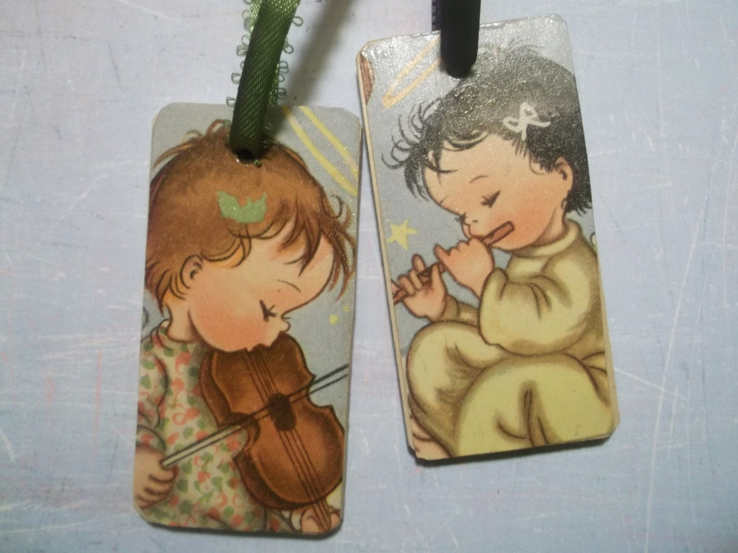 Two Angel Gift Tags