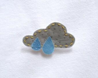 Rainy Day Cloud Pin