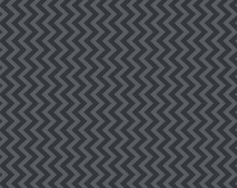 Muslin Mates by Moda Fabrics, Mates Chevron Midnight 1/2 yard total