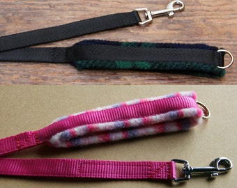 Padded Handle Dog Leash - Medium Width, lots of colours